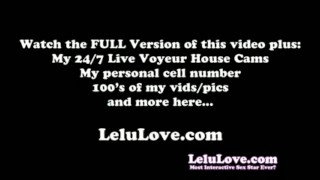 Lelu Love-Small Penis Humiliation Instruction  small penis homemade 1080p hd humiliation femdom amateur solo lelu pov fetish feet personal porn lelu love masturbation instruction