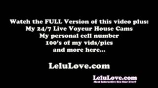 Lelu Love-Small Penis Humiliation Instruction feet lelu-love homemade femdom amateur solo masturbation-instruction small-penis lelu personal-porn 1080p pov fetish hd humiliation
