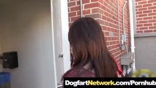 Fucked in a Public Bathroom Gloryhole by A Huge Black Cock  tattoo big cock bbc public sex interracial small tits brunette monster cock dogfartnetwork.com gloryhole pornstar