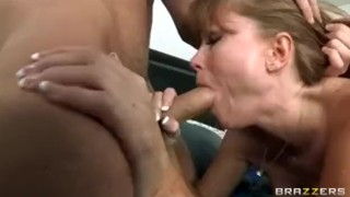 Hot bigtit redhead milf slut saleswoman fucking clients harddick
