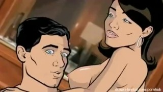 Archer Sex Video  cartoon drawn hentai.com anime