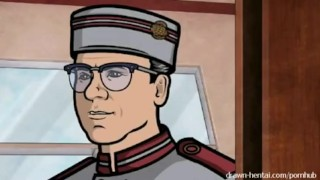 Archer Sex Video  category_softcore cartoon anime drawn-hentai-com