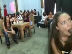 Hot and Horny Latina Gobbles Dick