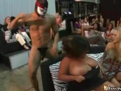 Hundreds of Club Girls Suck Stripper Cock
