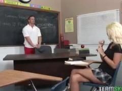 InnocentHigh Courtney Taylor blonde college schoolgirl teen hardc