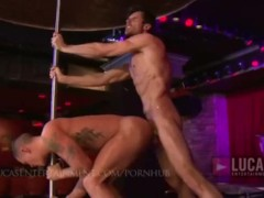Gay Strippers Fuck Live On Stage