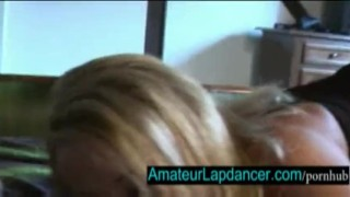 Preview 3 of Gorgeous tanned blonde lapdance