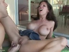 Angel Little Fucked Outdoors