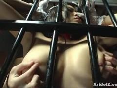 Bondage action with big tits babe Yuki Takizawa