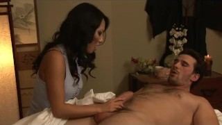 Masseuse Asa Akira Fucks Her Client  japanese orgasm sweetsinner.com cumshot tattoo skinny big dick massage busty
