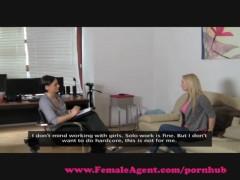 FemaleAgent. Big breasts casting