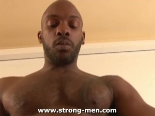 Hung Ebony Muscle