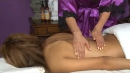 Vicki Chase Massages Her Sister's Best Friend