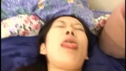 Hot Asian girl blowjob and nasty cumshot