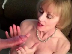 Melanie and her two young cocks
