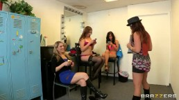 HOT & Mean casting director loves to punish her new try-outs