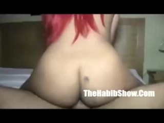 DOminican Red head treats a trick