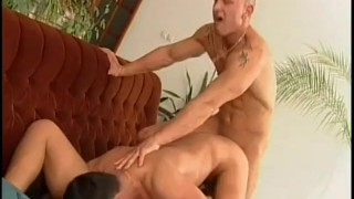 Bi Bi Baby - Scene 2  bisexual brunette threesome anal mmf pornhub.com pussy licking doggy style ass fucking blowjob