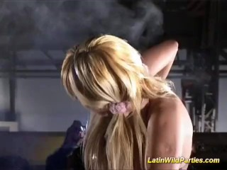 Latin wild parties hard group fucked and oral job sex
