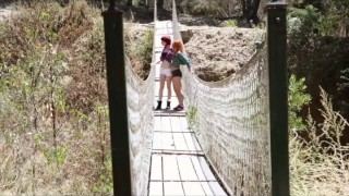 Passion-HD Outdoor Creampie Redhead Threesome