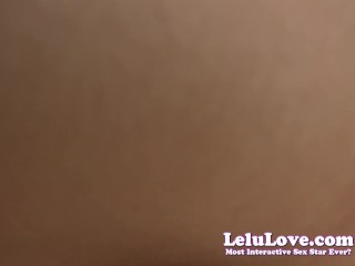 Lelu Love-POV Female Friend Riding Creampie