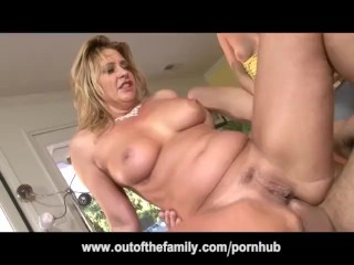 Daughter Watches Her Mom Get Ass Fucked