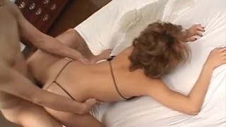 Fit Japanese cougar fucks in a tiny bikini  japanese milf brunette alljapanesepass mother groupsex cougar natural tits huge tits asian oriental mom