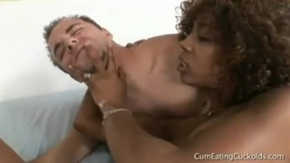 Misty Stone Cuckold  doggy style bbc cuckold ebony black cumshot small tits skinny fetish hardcore handjob cock sucking raw shaved cock natural tits