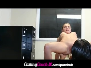 CastingCouch-X Real Casting Video Amateur Gets Surprise Fucking