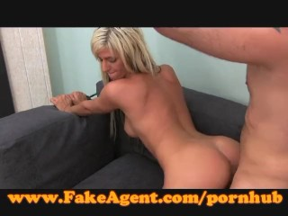 FakeAgent Beautiful blonde babe