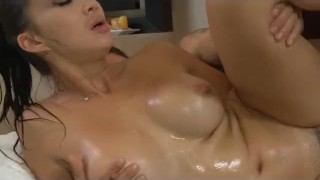 Big Tit Asian Katsuni Nuru Massage and Fuck  large breasts nuru-massage huge-tits french asian cumshot big-boobs small-ass skinny busty oil orgasm nuru fucked
