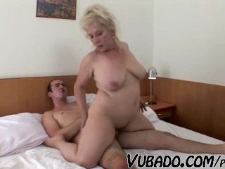 Older Mother Getting Fucked - Title on the code