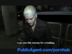 PublicAgent Full Sex on a Train with a Hot Blonde