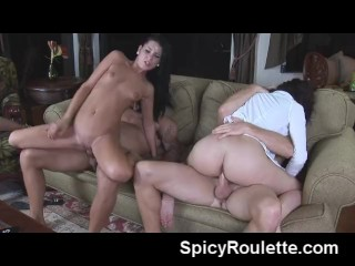 Tanner Mayes invites friends for fuck orgy