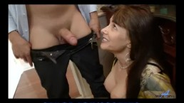 Hairy pussy cougar doggystyle
