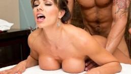 sexy esperanza gomez gets facialized | Esperanza Gomez