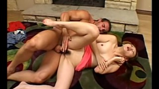 Splitting Her Tight Japanese Pussy With Big Dick  japanese homegrownhairybush homemade creampie hairy pussy asian amateur blowjob big dick fucking