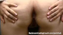 Dimwit Teen Assfucked & Facialed