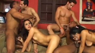 TRY BEFORE YOU BI - Scene 1  ass fuck big tits ass fucking brazilian blowjob cumshot bi bisexual latina anal latin pornhub.com group sex