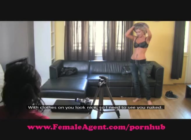 FemaleAgent. Delicious blonde bombshell