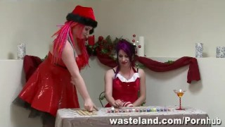 The Consequences Of Elf-Ware: A Wasteland FemDom Christmas! dildo bdsm tied domination femdom latina sex toy puerto rican holiday adult toys elf