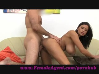 Femaleagent. tit's made for cock