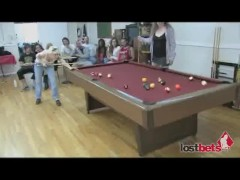 Strip 8-Ball With Naomi and Lieza part 1
