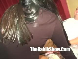 Tiajauana hairy pussy hoe gets fucked down