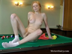 Hairy Rita rejects pool