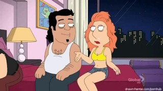 Nude Loise Griffin Gets Fucked familyguy celeb cartoon mmf groupsex blowjob anime