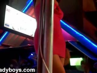 Nikki with Ladyboys in Thailand