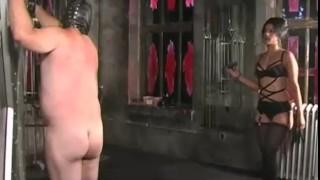 Extreme submission to Femdom Delilah videos slave bdsm punishment pain bondage hardcore electricity extreme wax