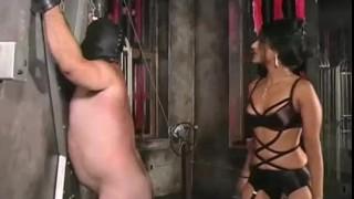 Extreme submission to Femdom Delilah  hardcore bondage wax electricity slave bdsm pain punishment extreme