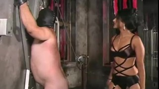 Extreme submission to Femdom Delilah  hardcore bondage wax electricity slave bdsm pain punishment extreme